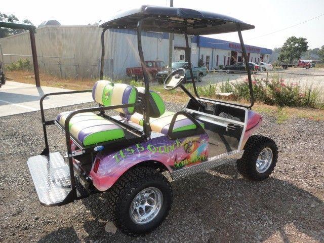Margaritaville golf cart | Custom golf carts, Golf carts ...  |Margaritaville Golf Cart Craigslist