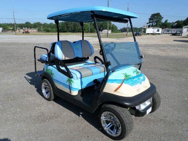 Margaritaville Stretch | Evans Custom Golf Carts | Pinterest  |Margaritaville Golf Cart Craigslist