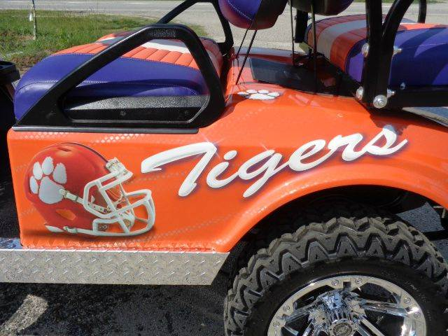 2015 Clemson Tiger (Tiger Graphic)  - Effingham SC