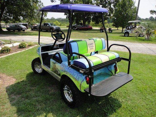 Evans custom golf carts used golf carts for sale for Narrow golf cart