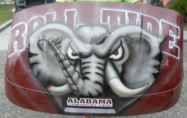 2015 Alabama Crimson Tide  - Effingham SC