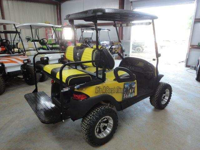 2012 Club Car Pittsburgh Steelers  - Effingham SC
