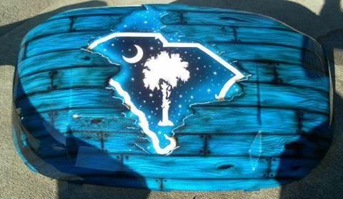 2015 Palmetto South Carolina Blue