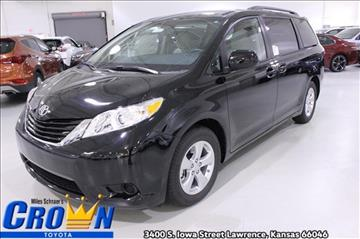 2017 Toyota Sienna for sale in Lawrence, KS