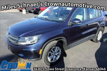 2016 Volkswagen Tiguan for sale in Lawrence, KS
