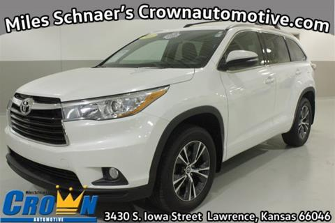 2016 Toyota Highlander For Sale In Kansas Carsforsale Com