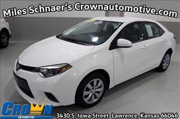 2016 Toyota Corolla for sale in Lawrence, KS