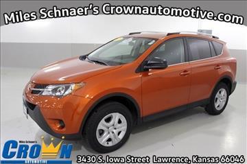 2015 Toyota RAV4 for sale in Lawrence, KS