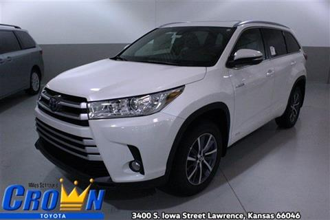 2017 Toyota Highlander Hybrid for sale in Lawrence, KS