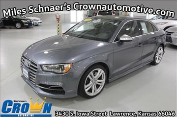 2016 Audi S3 for sale in Lawrence, KS
