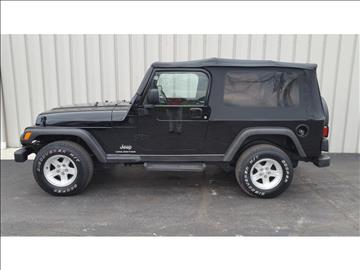 2004 Jeep Wrangler for sale in Paulding, OH