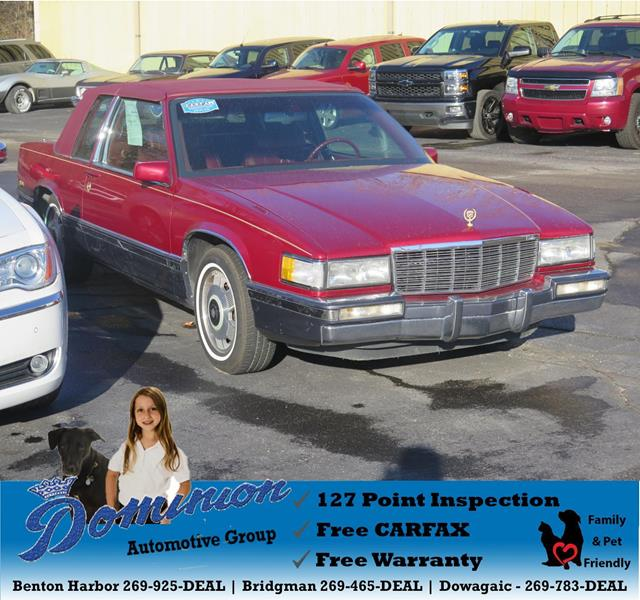 1991 Cadillac DeVille For Sale