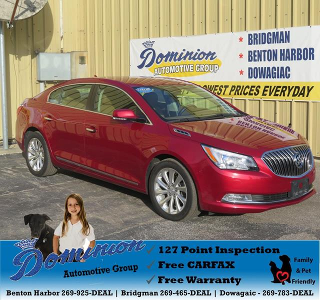 Labadie Bay City >> 2014 Buick LaCrosse For Sale in Michigan - Carsforsale.com