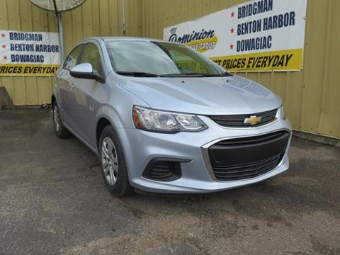 2017 Chevrolet Sonic for sale in Bridgman, MI