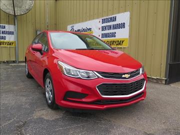 2017 Chevrolet Cruze for sale in Bridgman, MI