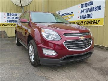 2017 Chevrolet Equinox for sale in Bridgman, MI