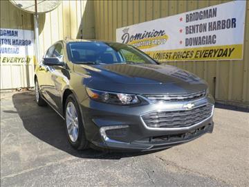 2017 Chevrolet Malibu for sale in Bridgman, MI