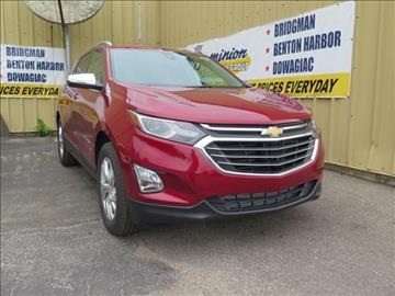 2018 Chevrolet Equinox for sale in Bridgman, MI