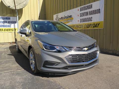 2017 Chevrolet Cruze for sale in Bridgman, MI