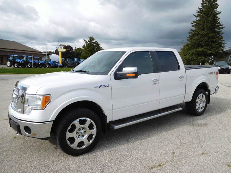 2011 ford f 150 lariat 4x4 4dr supercrew styleside 5 5 ft sb in fort atkinson ia kuhn enterprises. Black Bedroom Furniture Sets. Home Design Ideas