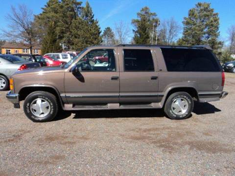 1998 GMC Suburban for sale in Sturgeon Lake, MN
