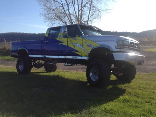 used 1995 ford f 350 xl crew cab 4wd in owego ny at tioga. Black Bedroom Furniture Sets. Home Design Ideas