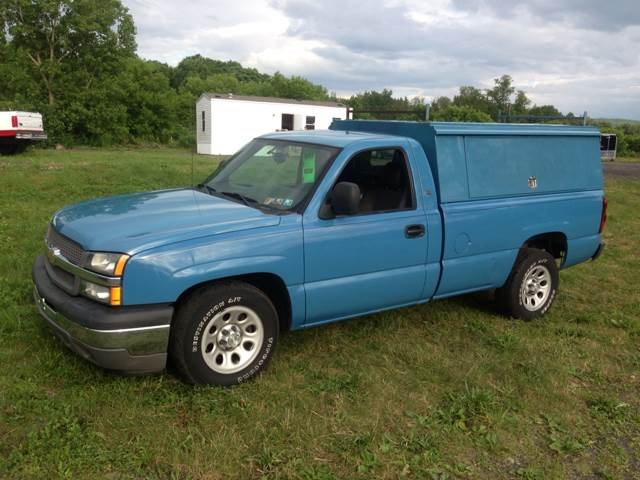2005 chevrolet silverado 1500 work truck long bed 2wd in owego ny tioga car company. Black Bedroom Furniture Sets. Home Design Ideas