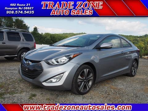 2014 Hyundai Elantra Coupe for sale in Hampton, NJ
