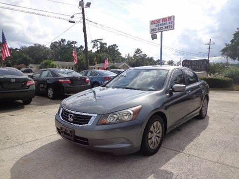 2008 Honda Accord for sale in Jacksonville, FL