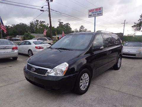 2012 Kia Sedona for sale in Jacksonville, FL