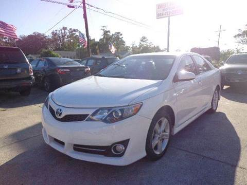 2012 Toyota Camry for sale in Jacksonville, FL