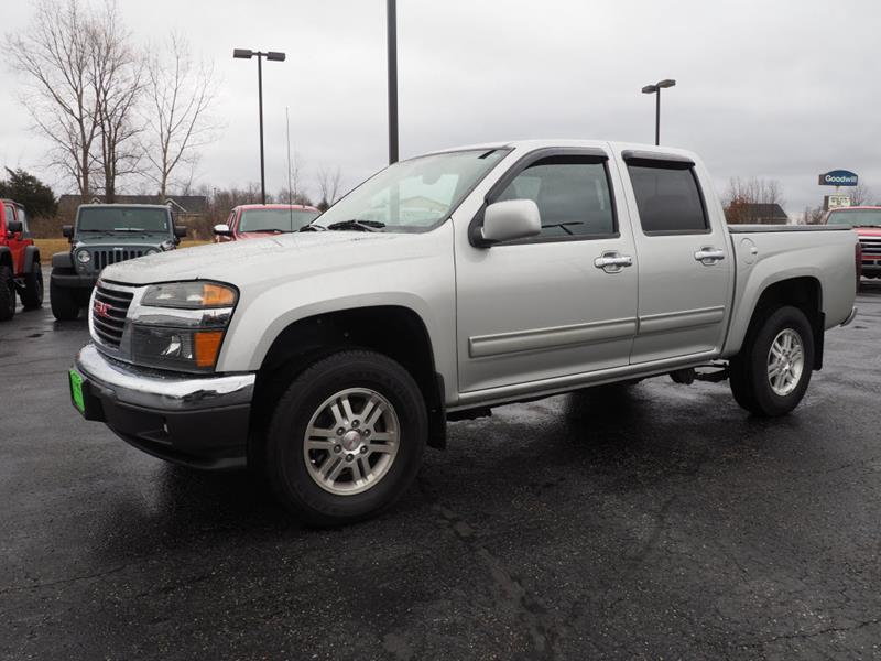 2012 gmc canyon 4x4 sle 1 4dr crew cab in bellefontaine oh mig contact publicscrutiny Images