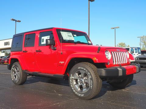 2017 Jeep Wrangler Unlimited for sale in Bellefontaine, OH
