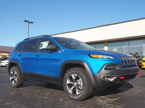 2018 Jeep Cherokee for sale in Bellefontaine, OH