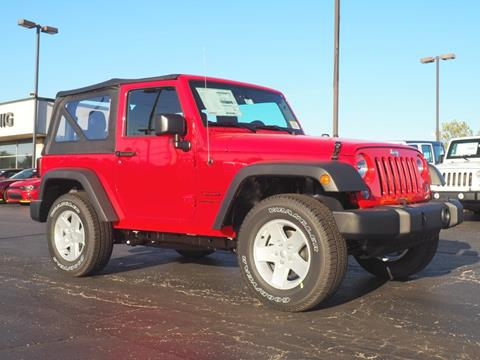 2017 Jeep Wrangler for sale in Bellefontaine, OH