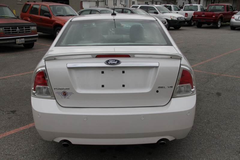 2009 ford fusion v6 sel 4dr sedan in sellersburg in. Black Bedroom Furniture Sets. Home Design Ideas