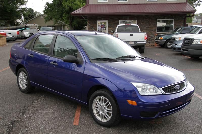 2006 ford focus zx4 se 4dr sedan in sellersburg in. Black Bedroom Furniture Sets. Home Design Ideas