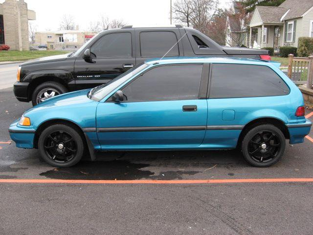 1991 honda civic dx hatchback in sellersburg in unique. Black Bedroom Furniture Sets. Home Design Ideas