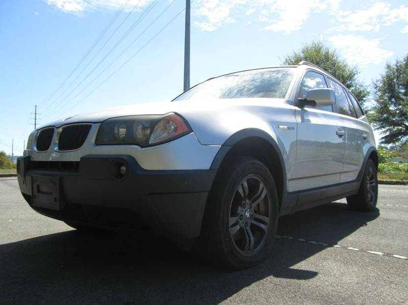 2005 BMW X3 30I AWD 4DR SUV silver wow this bmw x3 is amazing all wheeld drive clean carfax