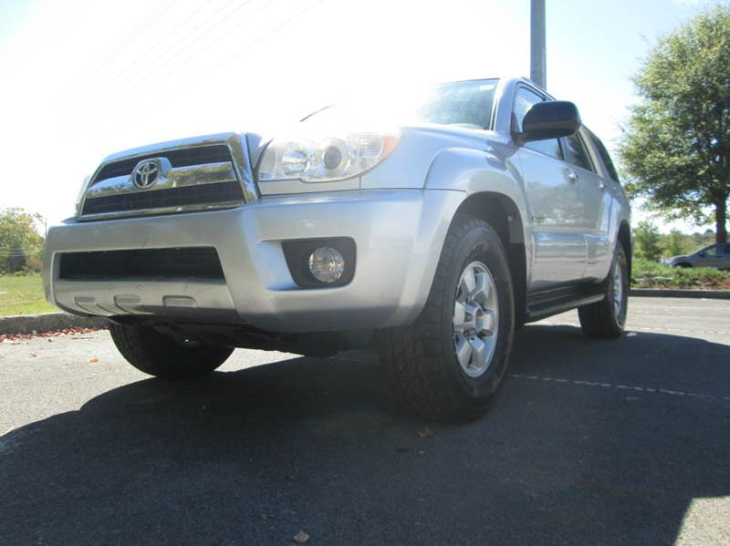 2007 TOYOTA 4RUNNER SR5 4DR SUV 4WD V6 silver awesome newer body style 2007 toyota 4runner inc