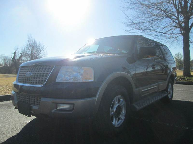 2003 FORD EXPEDITION EDDIE BAUER 4WD 4DR SUV black super nice inside and out 2003 ford expedition
