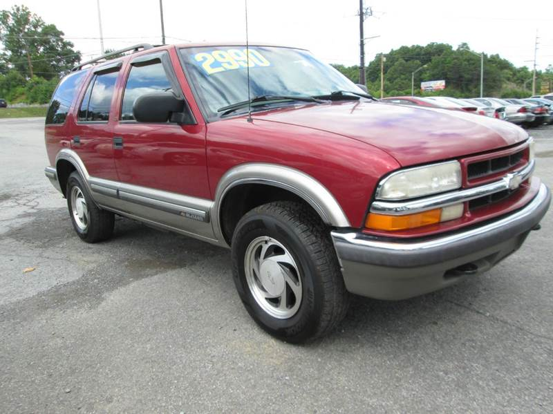 1999 Chevrolet Blazer 4dr LT 4WD SUV In Kingsport TN  Unique Auto