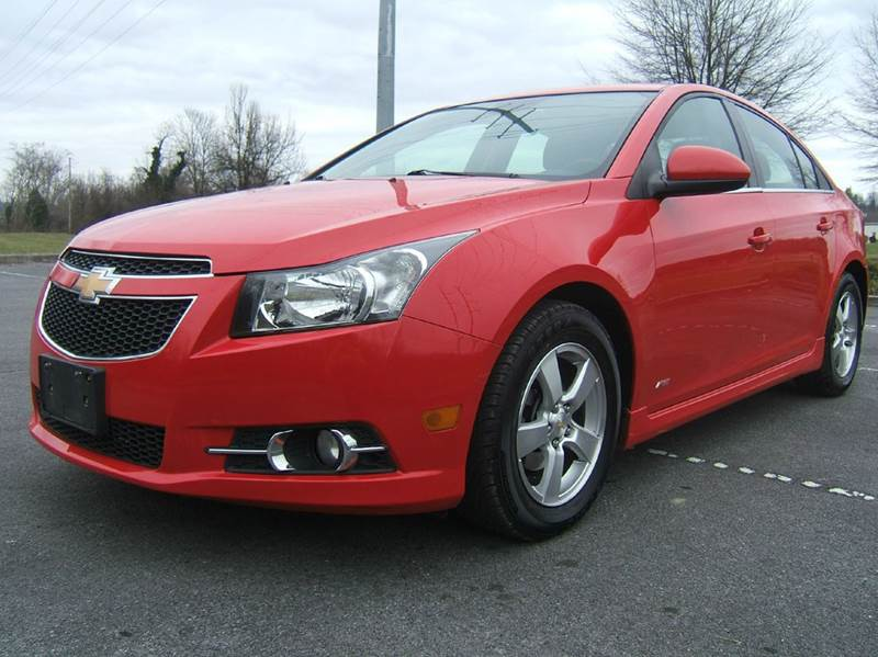 2014 CHEVROLET CRUZE 2LT AUTO 4DR SEDAN W1SH red this car is unbelievable it runs drives and