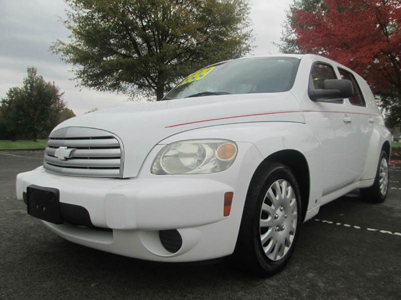 2009 CHEVROLET HHR LS 4DR WAGON white very low miles for the year power windows power locks c