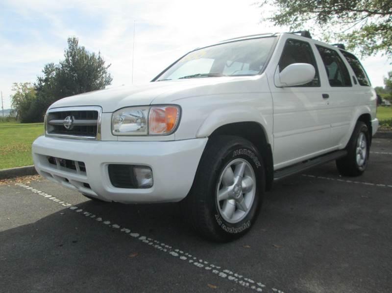 2001 NISSAN PATHFINDER LE 4WD 4DR SUV pearl white super nice 2001 nissan pathfinder le runs