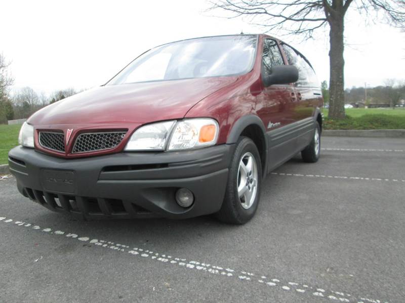 2001 PONTIAC MONTANA SPORT 7 SEAT 4DR EXTENDED MINI V burgubdy excellent condition for the year