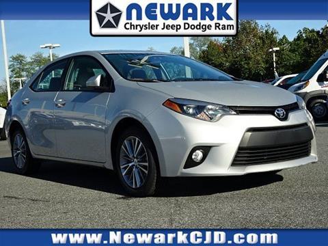 2014 Toyota Corolla for sale in Newark, DE