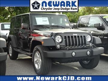 2017 Jeep Wrangler Unlimited for sale in Newark, DE