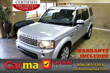 2010 Land Rover LR4 for sale in Duluth, GA