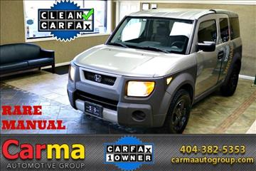 2003 Honda Element for sale in Duluth, GA